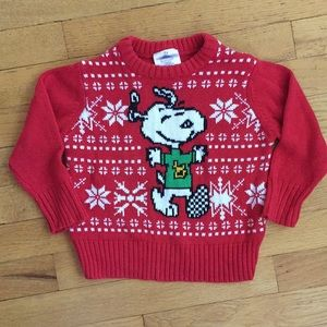 Peanuts Snoopy Holiday Sweater